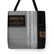 San Francisco Shreve Storefront - 5d20579 Tote Bag by Wingsdomain Art and Photography