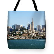 San Francisco Skyline Tote Bag by Kelley King