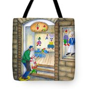 San Gimignano Tote Bag by Pamela Allegretto