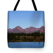 San Juan Mountain Range Tote Bag by Dan Sproul