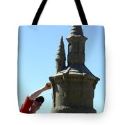 Sand Castle 1 Tote Bag by Bob Christopher