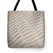 Sand Ripples Natural Abstract Tote Bag by Elena Elisseeva