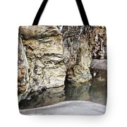 Sandstone Reflections Tote Bag by Douglas Barnard