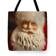 Santa Claus - Antique Ornament - 07 Tote Bag by Jill Reger
