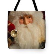 Santa Claus - Antique Ornament - 17 Tote Bag by Jill Reger