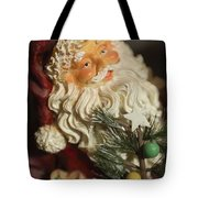 Santa Claus - Antique Ornament - 18 Tote Bag by Jill Reger
