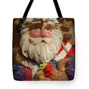 Santa Claus - Antique Ornament - 20 Tote Bag by Jill Reger