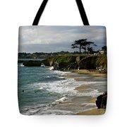 Santa Cruz Beach Tote Bag by Carol Groenen