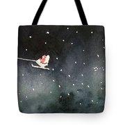 Santa Is Coming Tote Bag by Yoshiko Mishina