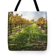 Santa Maria Vineyard Tote Bag by Sharon Foster