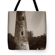 Sapelo Island Lighthouse Tote Bag by Skip Willits