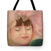 Sassy In Tulle Tote Bag by Marna Edwards Flavell