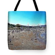 Sausalito Beach Sausalito California 5D22696 Artwork Tote Bag by Wingsdomain Art and Photography