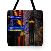 Scat Lounge Living Color Tote Bag by Joan Carroll
