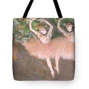 Scene De Ballet Tote Bag by Edgar Degas