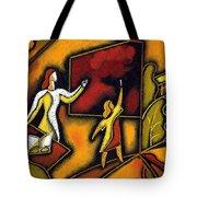 School Tote Bag by Leon Zernitsky