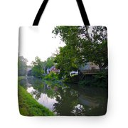 Schuylkill Canal Mont Clare Tote Bag by Bill Cannon