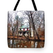 Schuylkill Canal Port Providence Tote Bag by Bill Cannon