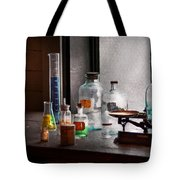Science - Chemist - Chemistry Equipment  Tote Bag by Mike Savad