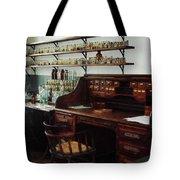 Scientist - Office in Chemistry Lab Tote Bag by Susan Savad