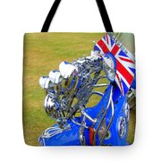 Scooter Dressed For Going Out Tote Bag by Steve Kearns