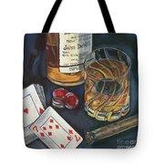 Scotch And Cigars 4 Tote Bag by Debbie DeWitt