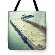 Scottish Harbour Tote Bag by Tom Gowanlock