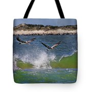 Scouting For A Catch Tote Bag by Betsy Knapp