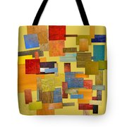 Scrambled Eggs Lll Tote Bag by Michelle Calkins