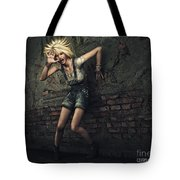 Scream Tote Bag by Jutta Maria Pusl