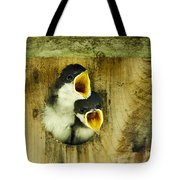 Screaming Hungry Tote Bag by Christina Rollo