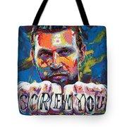 Screw You Tote Bag by Maria Arango