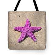 Sea Star - Pink Tote Bag by Al Powell Photography USA