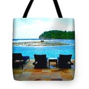Sea Star Villa Tote Bag by Carey Chen