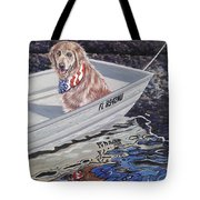 Seadog Tote Bag by Danielle  Perry