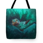 Seal Tote Bag by Kathleen Kelly Thompson