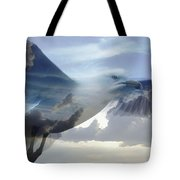 Searching The Sea - Seagull Art By Sharon Cummings Tote Bag by Sharon Cummings