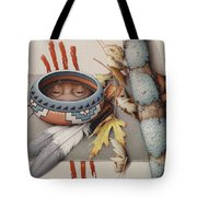 Season Of Remembrance Tote Bag by Amy S Turner