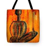 Seated Man Tote Bag by Nirdesha Munasinghe