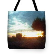 Second Sunset Tote Bag by Pharris Art