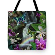 Secret Butterfly Tote Bag by Alixandra Mullins