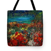SECRET GARDEN Tote Bag by TERESA WEGRZYN