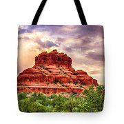 Sedona Bell Rock Vortex In Spring Tote Bag by Bob and Nadine Johnston