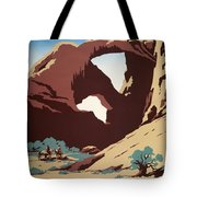 See America - Cowboys Tote Bag by Nomad Art And  Design
