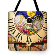 Seed Planting Clock Tote Bag by Garry Gay