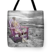 Selective Tote Bag by Betsy Knapp