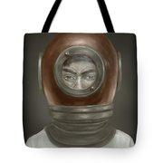 Self Portrait Tote Bag by Balazs Solti