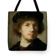 Self Portrait Tote Bag by Rembrandt Harmenszoon van Rijn
