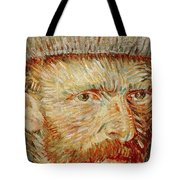 Self-portrait With Hat Tote Bag by Vincent van Gogh
