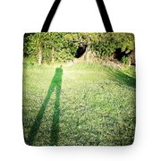 Selfie shadow Tote Bag by Les Cunliffe